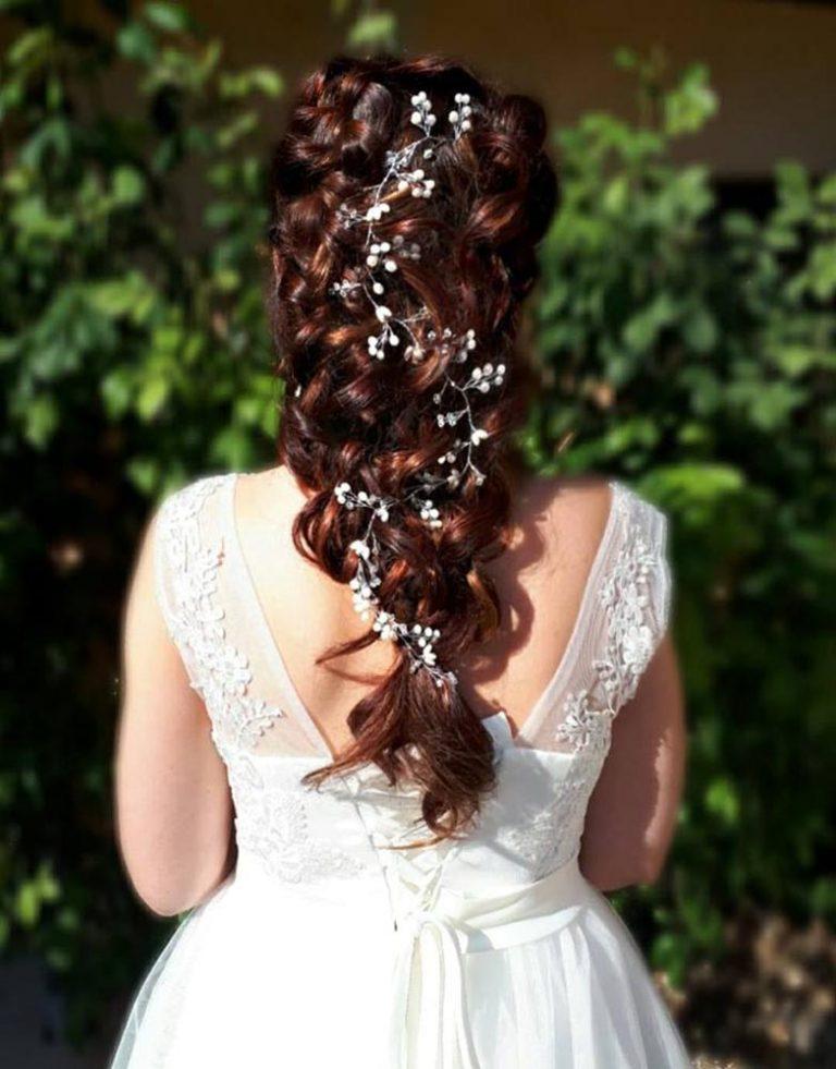 hairstylist wedding hair up
