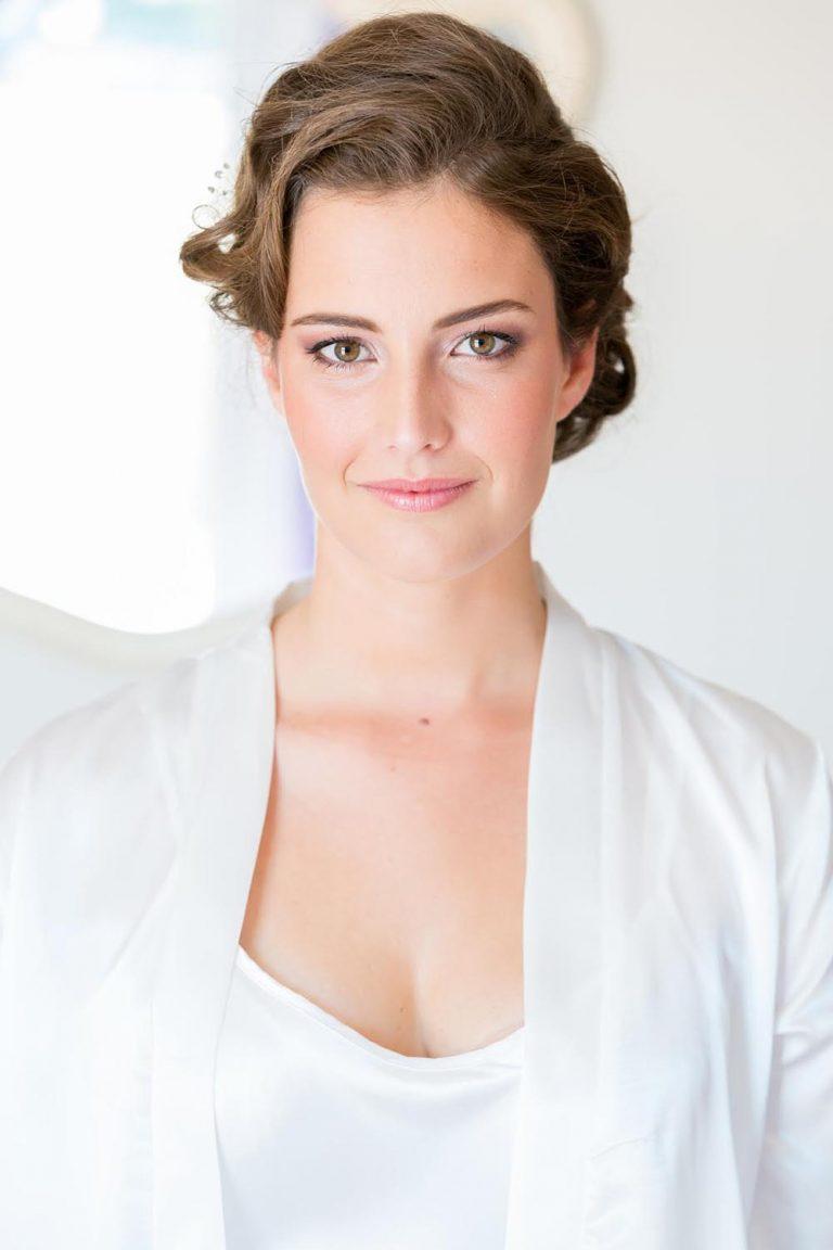 Serena bridal hair and makeup