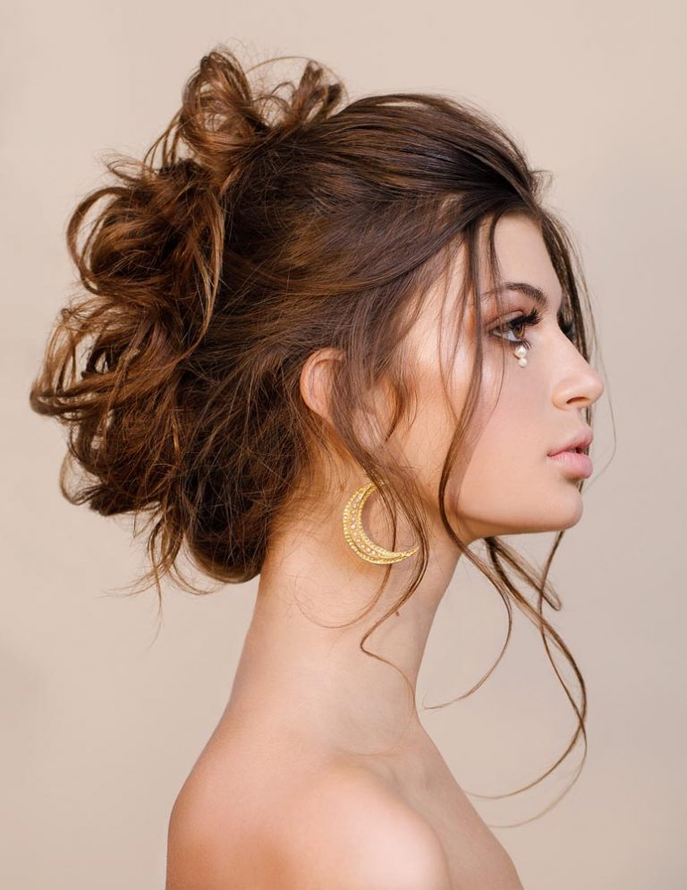 Glam pearl photoshoot, hair and makeup by Storme