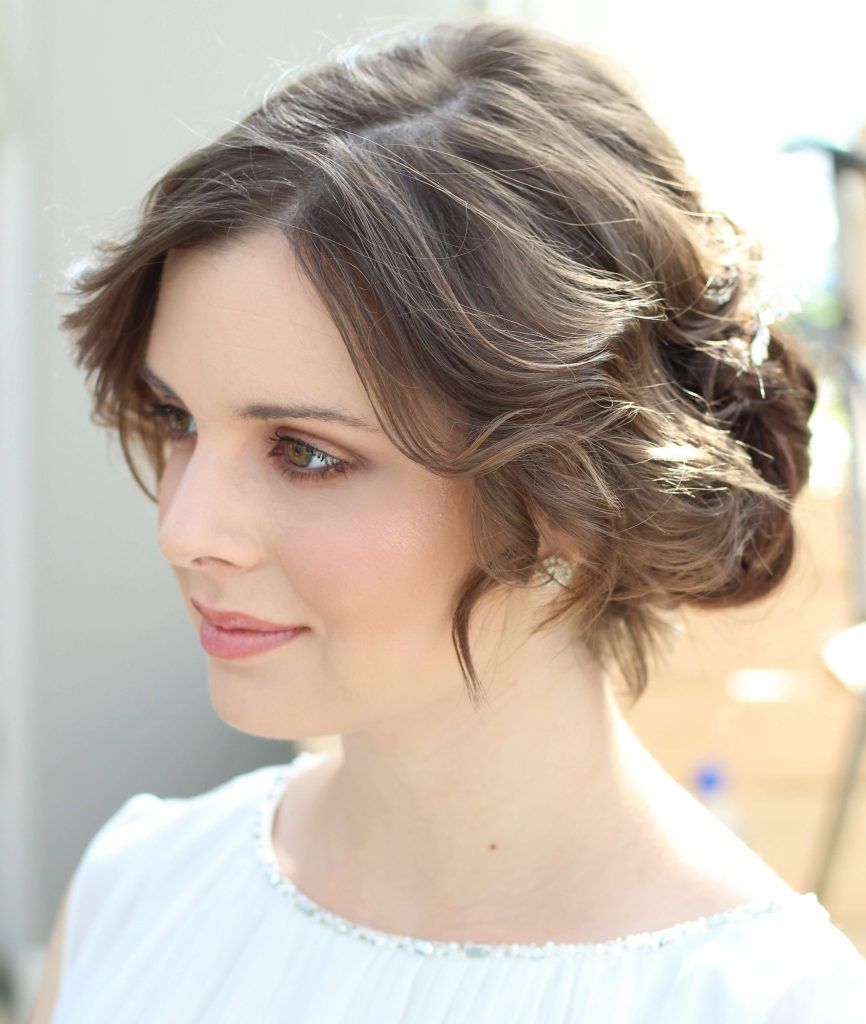 Soft Elegant Updo - Storme Makeup and Hair Blog