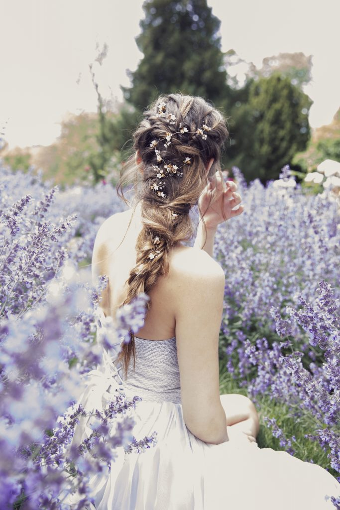 boho hair style by Storme