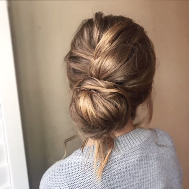 Hair up do by Charlie