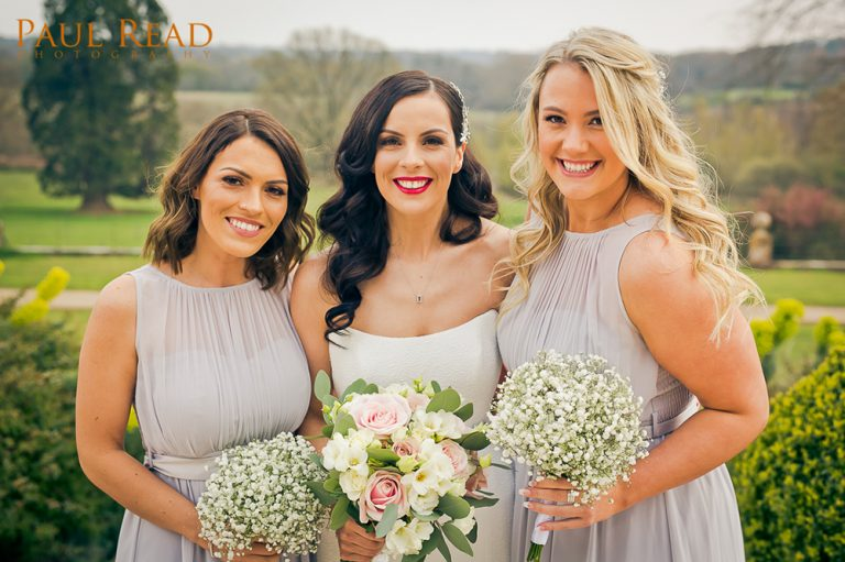 Bridal Party hair and makeup by Jennifer