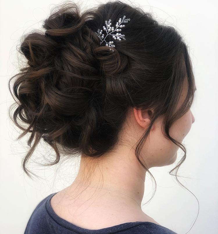 Hair up do by Jennifer