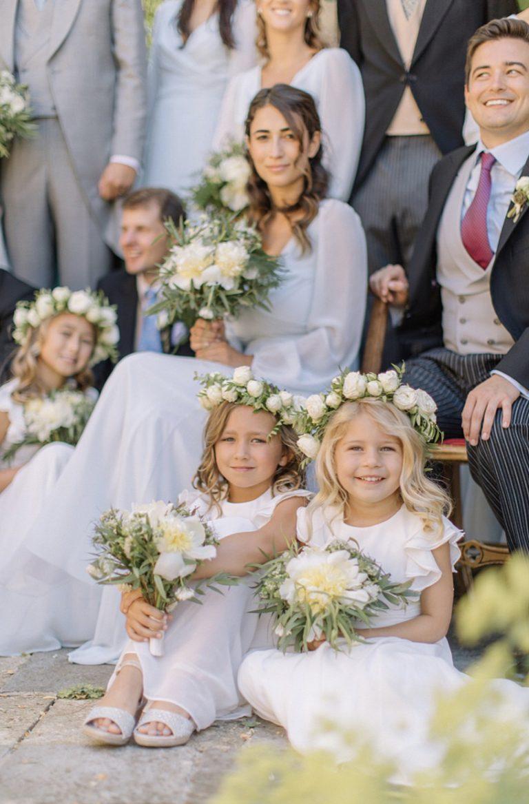 little bridesmaids flower girls