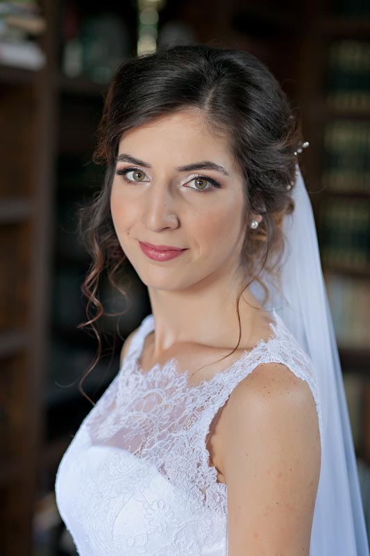 Bridal hair and makeup by Ema