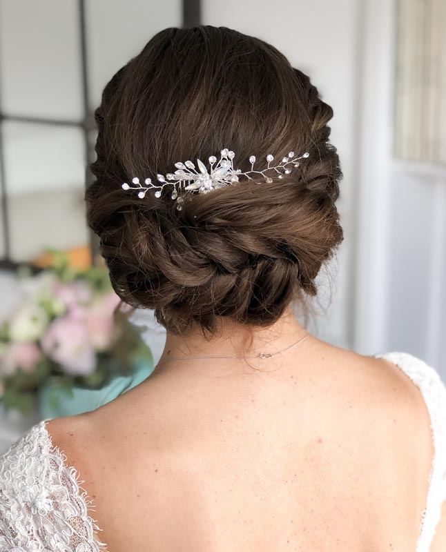 Wedding hair by Ema