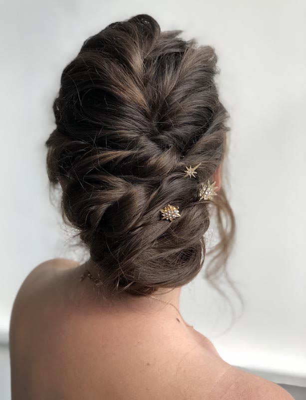 twisted hair up by Ema