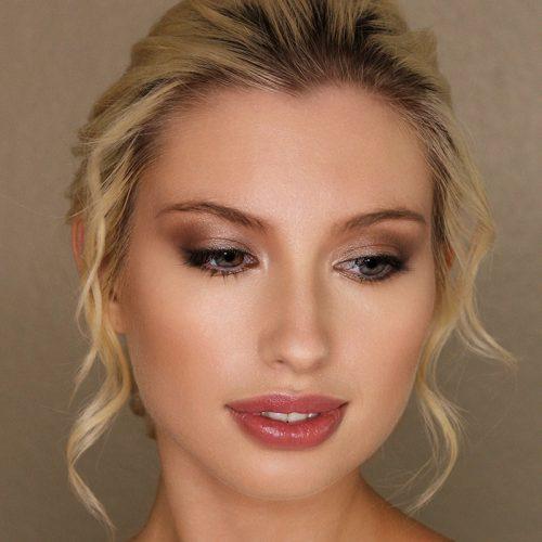 Glamour bride by Storme, makeup artist surrey.