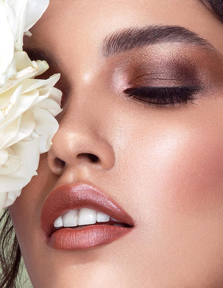 Beauty close up makeup by Storme