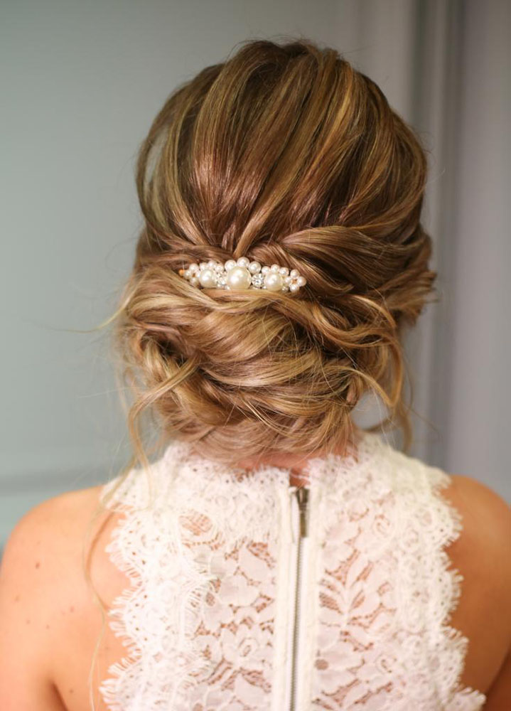 Bridal hair by Aga