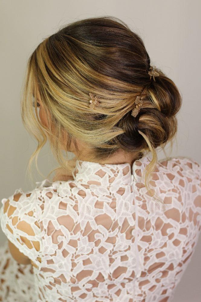 Wedding hairstyle by Jennifer