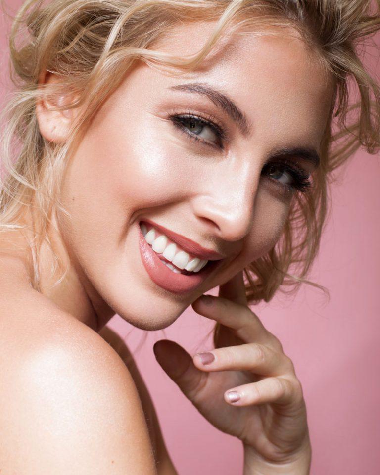 Beauty close up, makeup by Jo