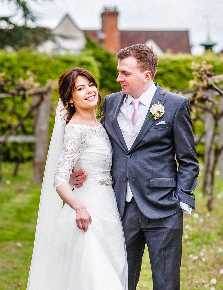 Bride and Groom, hair and makeup by Storme