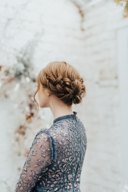 Together In Grace bridesmaid updo