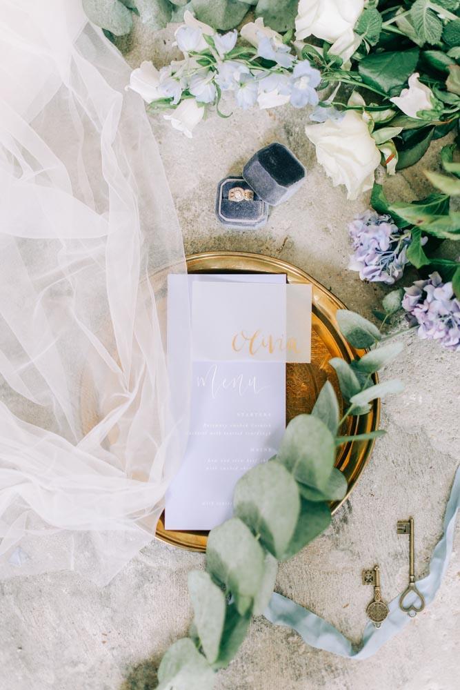 Wedding Flatlay