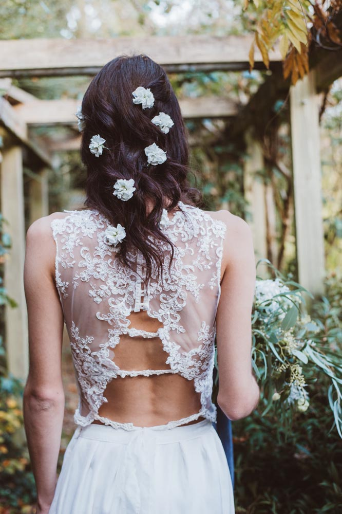 boho bride hairstyle