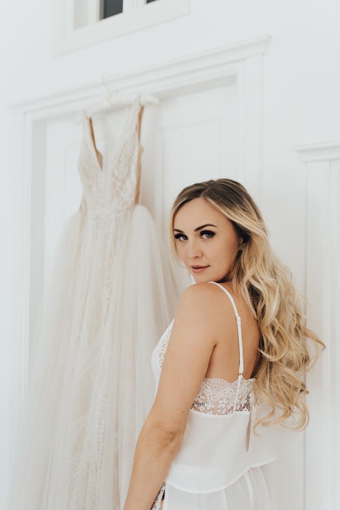 Santorini Greece Wedding Bridal Portrait