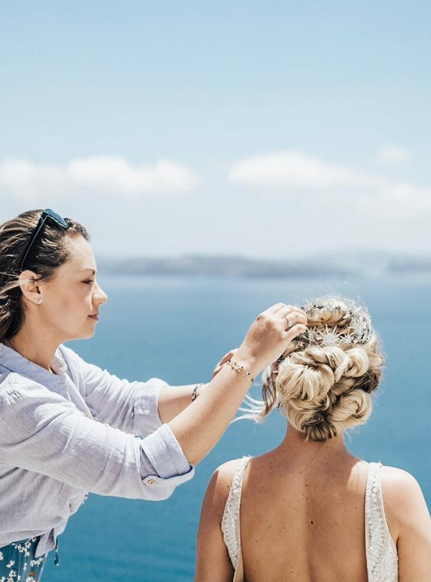 Storme Makeup and hair - Mantoring and support - Storme styling hair