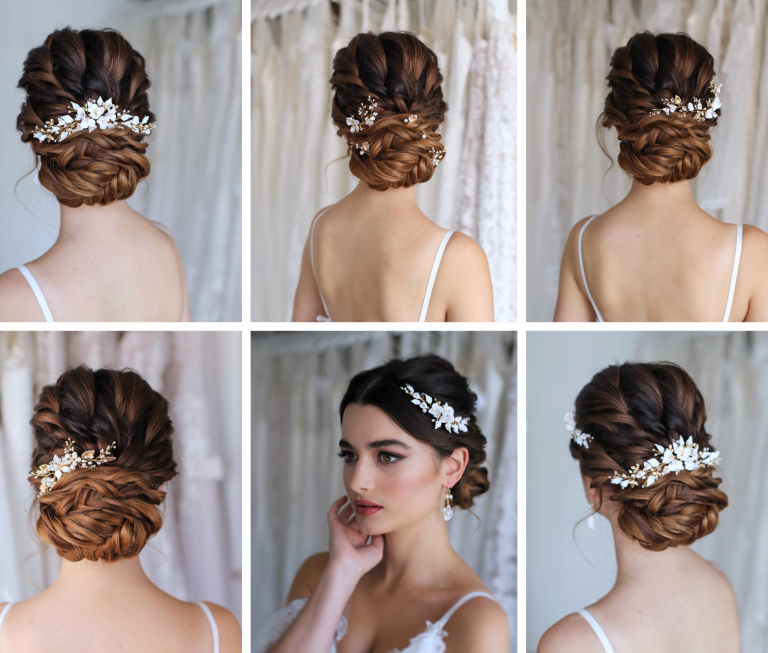 wedding hair accessories Surrey wedding hairstylist