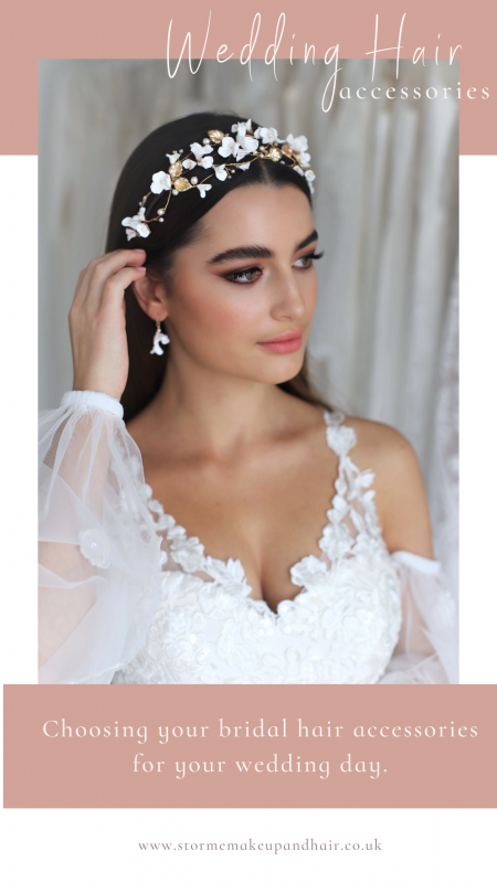 Choosing a bridal hair accessory