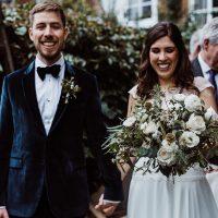 intimate wedding at The Bingham Riverside Hotel