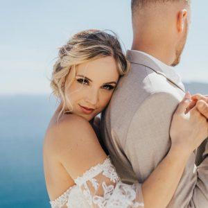 Santorini in love
