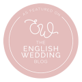 English Wedding Blog feature Badge Storme Makeup and Hair