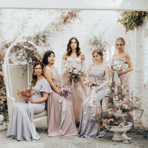 Feminine Pastel Soft and Elegant Wedding. Storme Makeup and Hair