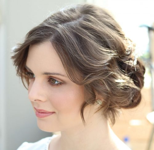 Natural makeup and hair by Storme