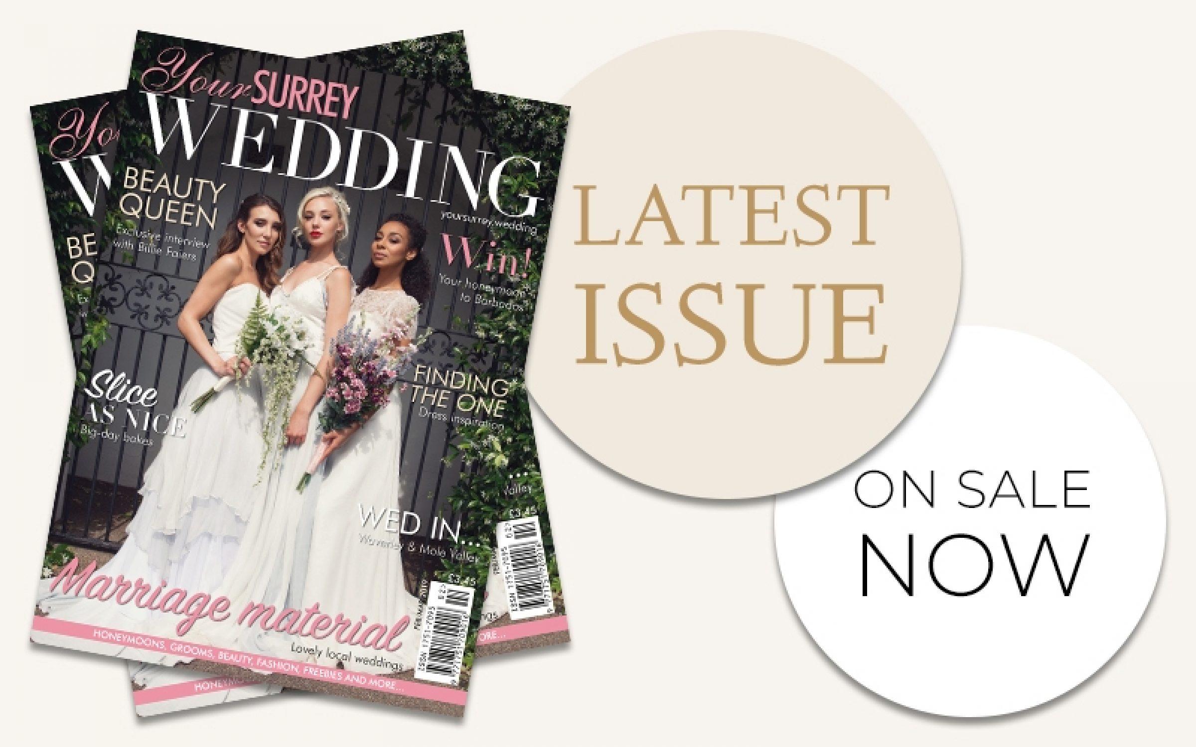 Featured Surrey Wedding Magazine